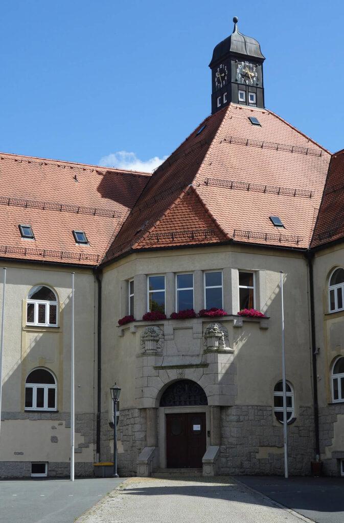 Geschwister-Scholl-Mittelschule in Schwarzenbach an der Saale